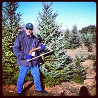 ... Photo taken at Candy Cane Christmas Tree Farm by Bill N. on 12/7 ...