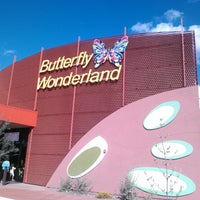 Photo taken at Butterfly Wonderland by M T. on 11/17/2013