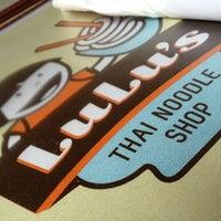 Снимок сделан в Lulu's Thai Noodle Shop пользователем Eric D. 3/25/2013