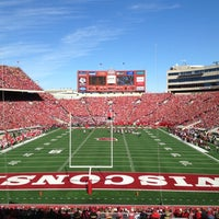 low priced f0fd0 757f1 ... Photo taken at Camp Randall Stadium by Camille L. on 10 20 2012 ...