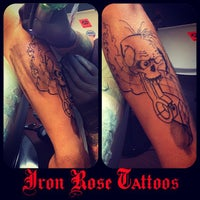 3474df3012177 ... Photo taken at Iron Rose Tattoos by Iron Rose Tattoos on 6/4/2013 ...
