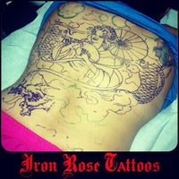 50de7b76d1ca7 ... Photo taken at Iron Rose Tattoos by Iron Rose Tattoos on 7/24/2013 ...