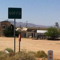 รูปภาพถ่ายที่ Goffs CA โดย Holly G. เมื่อ 4/29/2013