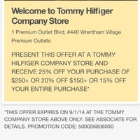0ed93e5f ... Photo taken at Tommy Hilfiger Company Store by Serge ⚓ C. on 7/ ...