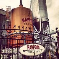 Снимок сделан в Harpoon Brewery пользователем Emily L. 3/29/2013