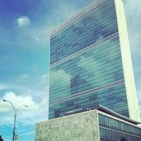 Das Foto wurde bei Vereinte Nationen von Konrad K. am 7/2/2013 aufgenommen