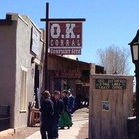 2/25/2013 tarihinde Richard B.ziyaretçi tarafından O.K. Corral'de çekilen fotoğraf