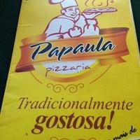 Das Foto wurde bei Papaula Pizzaria von Fialho R. am 12/30/2012 aufgenommen