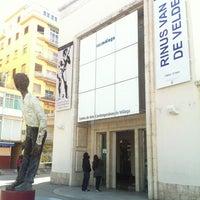 Photo taken at CAC Málaga - Centro de Arte Contemporáneo by Pol S. on 3/22/2013