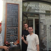 7/12/2013 tarihinde Alix H.ziyaretçi tarafından Comme un Bouchon'de çekilen fotoğraf