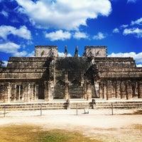 Foto tomada en Zona Arqueológica de Chichén Itzá por Vadim E. el 2/14/2013