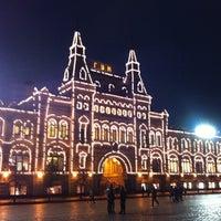 Снимок сделан в ГУМ пользователем Руслан С. 10/18/2012