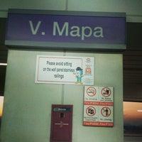 Foto tirada no(a) LRT 2 (V. Mapa Station) por Fish C. em 1/26/2013