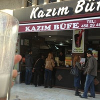 2/14/2013 tarihinde Şerife T.ziyaretçi tarafından Kazım Büfe'de çekilen fotoğraf