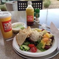 Photo taken at Zo?s Kitchen by Carri on 12/15/2014