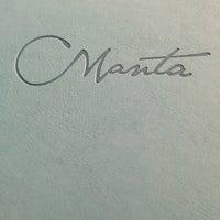 Foto diambil di Manta Restaurant oleh artbyONAK pada 7/21/2013