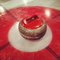 Снимок сделан в Московский кёрлинг-клуб / Moscow Curling Club пользователем 🎉✅Гарик Ш. 12/3/2012
