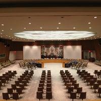Das Foto wurde bei Vereinte Nationen von Andrei B. am 5/21/2013 aufgenommen