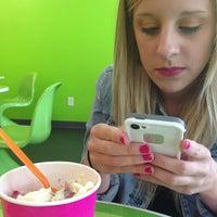 Photo Taken At The Green Kiwi Frozen Yogurt By Tony L On 6 10