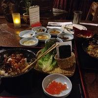 Снимок сделан в Domo Japanese Country Foods Restaurant пользователем Joey F. 11/25/2012