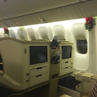 Photo Taken At Sq871 Hkg Sin Singapore Airlines By Kane S On 12