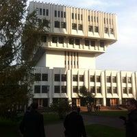 Снимок сделан в РАНХиГС при Президенте РФ пользователем Виталий Ж. 10/9/2012