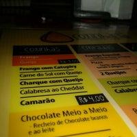 9/14/2012 tarihinde Arthur P.ziyaretçi tarafından Coxinharia Snack Bar'de çekilen fotoğraf