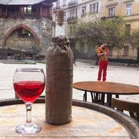 Снимок сделан в Пструг, хліб та вино пользователем Tanya K. 5/3/2013