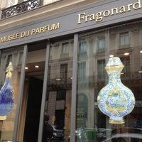 Musée Du Parfum Fragonard Chaussée Dantin париж иль де франс