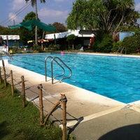 Tropical Palace Resort Pool In Para Aque City
