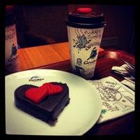 2/12/2013 tarihinde aysenur a.ziyaretçi tarafından Caribou Coffee'de çekilen fotoğraf