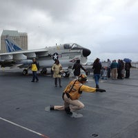 Photo taken at USS Midway Museum by Haowei C. on 12/29/2012