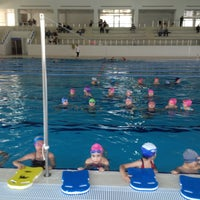 4/16/2013 tarihinde Samet Ö.ziyaretçi tarafından Tekirdağ Gençlik Hiz. ve Spor İl Md. Kapalı Yüzme Havuzu'de çekilen fotoğraf