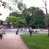Plac Zabaw W Parku Ujazdowskim Playground In Warsaw