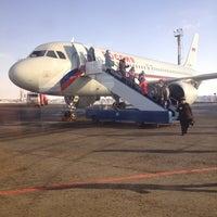 Снимок сделан в Международный аэропорт Курумоч (KUF) пользователем Ruslan K. 2/23/2013