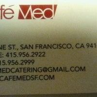 Foto tirada no(a) Cafe Med por Stella B. em 5/22/2014