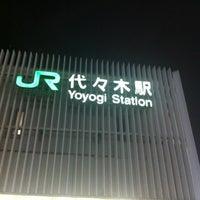 Foto tirada no(a) JR Yoyogi Station por page 8. em 10/26/2012
