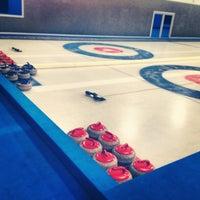 Снимок сделан в Московский кёрлинг-клуб / Moscow Curling Club пользователем Ekaterina N. 1/11/2013