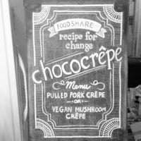 Photo taken at Chococrepe by Kim T. on 2/28/2013
