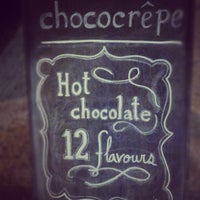 Photo taken at Chococrepe by Kim T. on 12/2/2012