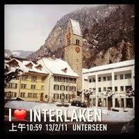 2/12/2013 tarihinde Jane Y.ziyaretçi tarafından Interlaken'de çekilen fotoğraf