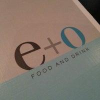 Снимок сделан в E+O Food And Drink пользователем Lizelle M. 7/3/2013