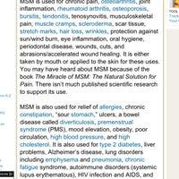 Msm Wound Healing