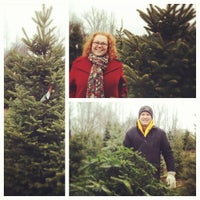 ... Photo taken at Candy Cane Christmas Tree Farm by melissa on 12/9/2012 ...