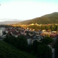 Das Foto wurde bei Greiffenegg Schlössle Restaurant von ILkr C. am 7/15/2014 aufgenommen