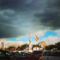 Foto tomada en Plaza de Colón por LaCaprichossa (. el 2/8/2013