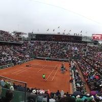 Photo prise au Stade Roland Garros par Merry Revuelta le6/9/2013