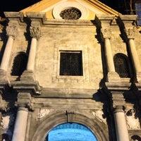 3/28/2013 tarihinde Marco B.ziyaretçi tarafından San Agustin Church'de çekilen fotoğraf