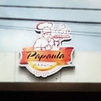 11/18/2012 tarihinde Rafaziyaretçi tarafından Papaula Pizzaria'de çekilen fotoğraf