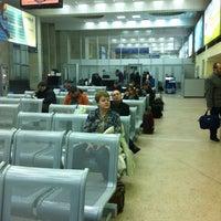 Снимок сделан в Международный аэропорт Курумоч (KUF) пользователем Вячеслав 1/17/2013